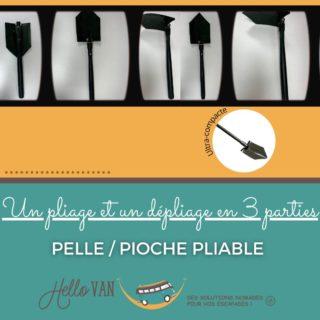 Hello ! ☀ . 🍀 L'offre de la semaine : Pelle/pioche pliable . Ultra-compacte, la pelle pioche pliante HelloVAN offre un pliage et un dépliage en 3 parties. Une fois replié, l'ensemble se range sans tenir de place. Idéale en camping, bivouac, randonnée et survie. . Prix en magasin : 15€ . Profitez de 10% de réduction avec le code : HELLOVAN10 valable jusqu'au 28/02/2021. . À très bientôt, . Carole-Anne ⛺ . Retrouvez-nous : 117 rue des orchidées, 42155 LENTIGNY 📞 04 28 72 01 05 🛒 Achetez en ligne : https://www.hello-van.com/produit/6743/ . . . . #tourismeroanne #tourismeroannais #roanne #lentigny #riorges #mably #coteroannaise #accessoirescamping #roannecity #roannetourisme #jaimeroanne