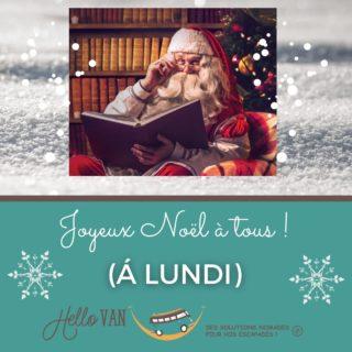 Hello ho ho ! ❄ . 🎁 Jour-J ! 🎁 . Je tenais à vous souhaitez à tous un bon réveillon et un joyeux Noël 🎅 . Fermeture : du 24 au 26 inclus. On se retrouve dès lundi 14h ! . À très bientôt, . Carole-Anne ⛺ . Retrouvez-nous : 117 rue des orchidées, 42155 LENTIGNY 📞 04 28 72 01 05 🛒 Achetez en ligne : www.hello-van.com . . . . #noel #christmas #winter #noël #hiver #neige #vacancehiver #voyagehiver #ski #pèrenoël #hiver2020 #magiedenoel #cadeaux #idéescadeaux #collectionhiver #sapin #froid